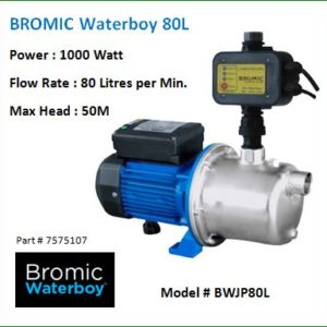 water pumps - Bromic 80L Waterboy™ AUTO Jet Pump