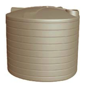 23,000 Litre RURAL Poly Water Tank ( 5055 Gallons )