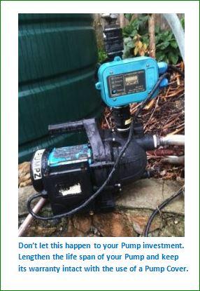 Damaged Unprotected Pump