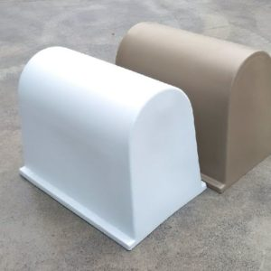 Rotational Moulded LARGE Poly Pump Cover